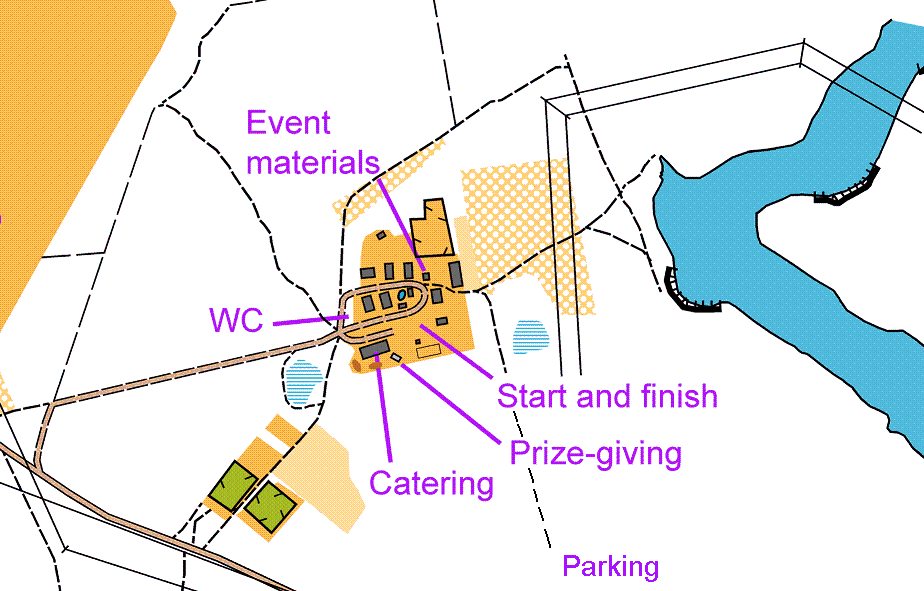 Map of the Event Centre
